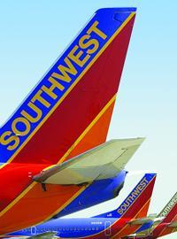 Southwest Airlines raised domestic fares $6 to $10 per roundtrip on Monday.