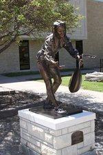 Bronze sculpture honoring Wichita businessman to be dedicated at FHSU