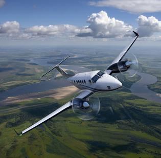 Customers of Hawker Beechcraft aircraft like the King Air might have more confidence in the company now that its future is more clear, analysts say.
