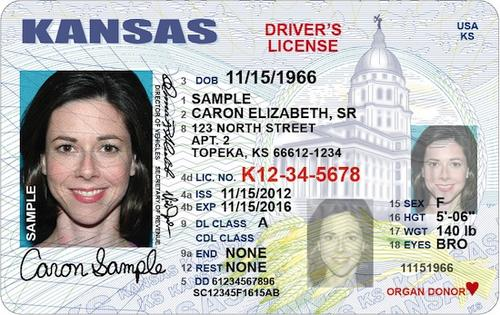 is a punched drivers license valid in california