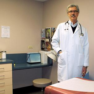Dr. Joe Davison, of West Wichita Family Physicians PA, says signing a deal with UnitedHealthcare of Kansas Inc. will keep the clinic from losing patients who couldn't be treated there because their insurance wouldn't cover it.