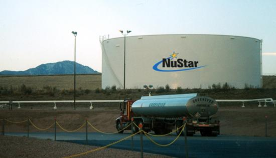 "NuStar Energy LP's publicly traded units were downgraded to ""underweight."""