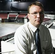 A.J. Boleski, general manager of Intrust Bank Arena, says the poor economy is to blame for the arena's revenue hiccup in 2011.