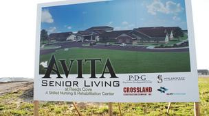 Avita Senior Living sign