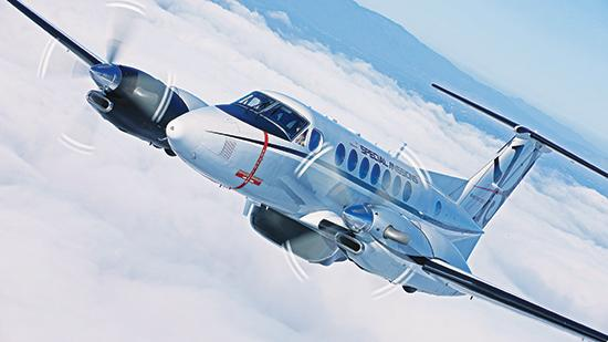 Beechcraft Corp. is interested in possibly adding anti-submarine warfare to the list of special-mission capabilities of its King Air 350.