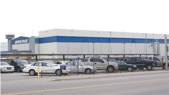 The Boeing Co. says it will close its Wichita facility, which employs 2,100.