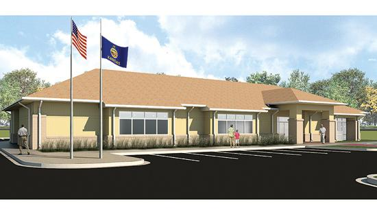 The Boy Scouts of America Quivira Council is moving into its new location, illustrated here in a rendering by Schaefer Johnson Cox Frey.