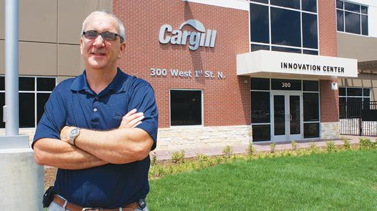 Scott Eilert, Cargill's vice president for research and development, says the company opted to build its downtown innovation center in part because of progress being made in downtown revitalization efforts.