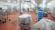 "A ""pilot plant"" inside the facility allows the company to test equipment used in cutting and packaging meat."