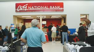 The City National Bank at Derby's Walmart Supercenter was one of three branches holding grand openings Sept. 7.