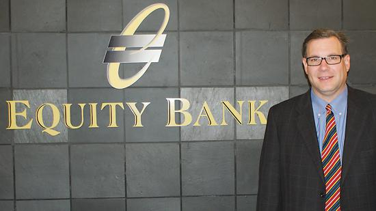 Brad Elliott, chairman and CEO of Equity Bank.