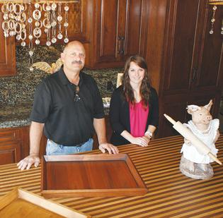 Homebuilder Draws Attention To His Woodworking Business With