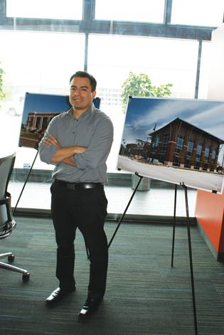 Matt Cortez, an architect with GLMV Architecture, has worked on several projects in Greensburg.