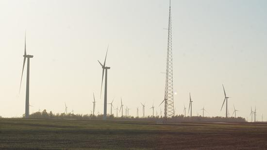BP Wind Energy recently completed this south-central Kansas wind turbine. The renewal of the wind energy production tax credit opens the possibility of more wind projects.