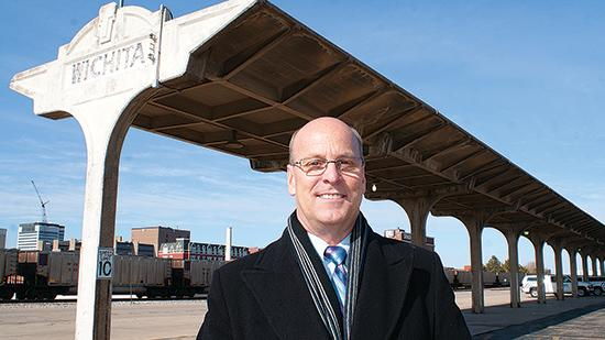 New Vice Mayor Pete Meitzner has been an advocate for bringing passenger rail to the city.