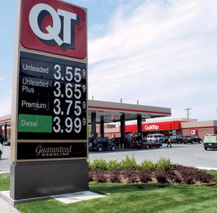Quik Trip gas prices