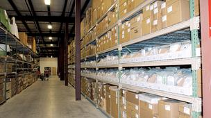 Global Parts warehouse