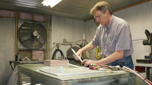 Rod Brown, head of Leading Edge's composites manufacturing facility, says the company's expansion will give it even more capability for its customers.