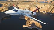 Bombardier The new Wichita-built Learjet 75 will be among the aircraft Bombardier Inc. will be displaying at NBAA. The Learjet 75 and Learjet 70, announced earlier this year, replace the Learjet 45 and Learjet 40 in the company's product line. Both are scheduled to enter service next year.