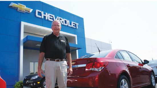 Denny Lubbers, of Lubbers Chevrolet Ford Inc., says demand for vehicles is high, particularly in the used market.
