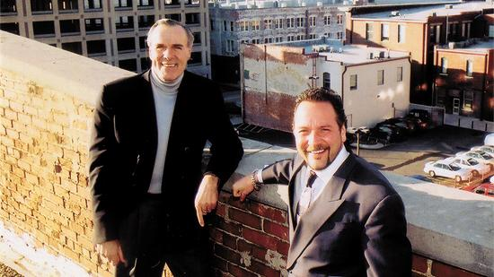 "David Lundberg, left, and Michael Elzufon are the ""Minnesota Guys"" behind Real Development."