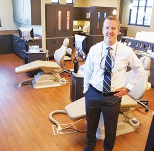 Dr. Paul Anders says Trimmell & Anders Orthodontics will try to re-create the same type of facility it has in east Wichita at The Collective.