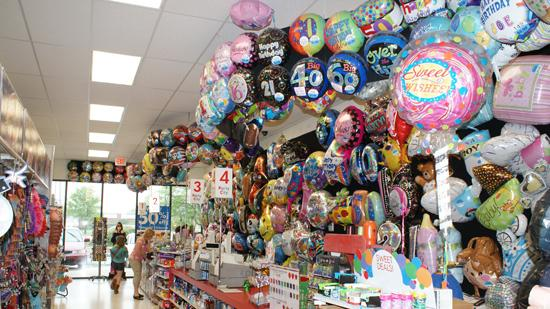 Walk-in customers at Party City can only get six helium balloons and ...