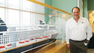 Mike Semler at Royal Caribbean's Wichita reservations center in March 2011.