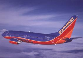 During a down traffic month for Kansas City International Airport, Southwest Airlines Co. strengthened its hold as the airport's busiest carrier.