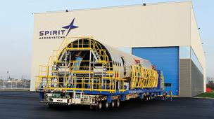 Spirit's engineers in Nashville will be helping support the company's work on Airbus' A350 airliner, which is done in Kinston, N.C., shown here.
