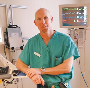 Dr. Jim Walker of Via Christi Health's stroke center