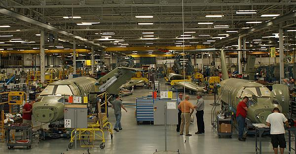 Cessna Aircraft Co. is consolidating its warehousing operations as part of an ongoing to effort to improve manufacturing efficiency.