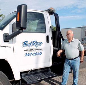 Bud Roat, owner of Bud Roat Towing, says that if the city takes over towing impounds, he would lose 10 to 15 percent of his business.