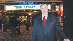 Bill Warren at IMAX opening