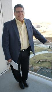 Doug Rupe is the executive vice president for WaterWalk and the point man for developer Jack DeBoer.