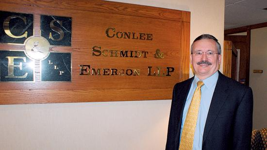 John Carmichael, of counsel for Conlee Schmidt & Emerson LLP, says a new workers' compensation law could lead to fewer claims because injured workers would have additional burden to prove they were hurt on the job.
