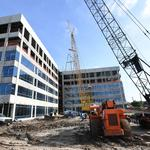 Photos: Memorial City office building tops out