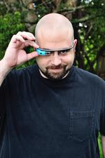 Meet <strong>Adam</strong> <strong>Avitable</strong>, perhaps the funniest man in Orlando with Google Glass