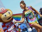 Brutus Buckeye was 'never, never for a second' going to miss Pride