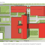 $550 million SLU Hospital will be adjacent to current facility