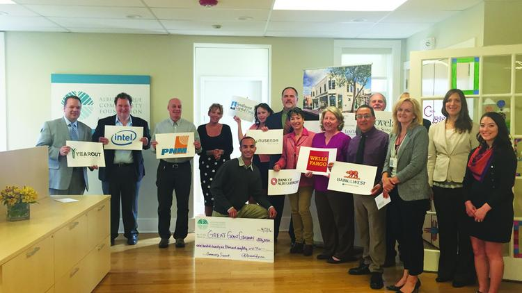 the albuquerque community foundations great grant giveaway held april 5 was a sold out