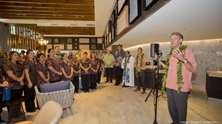 John Greenleaf, Senior Vice President, Global Head Of Hilton Garden Inn,  Speaks At