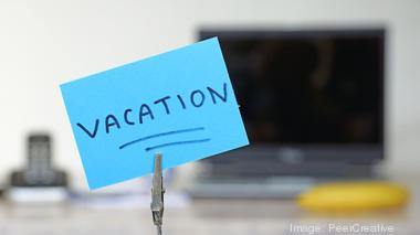 How much is your vacation really 'time off'?