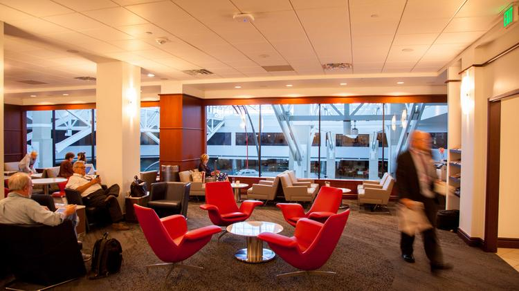 Check Out Delta S Fancy New Hangout At Denver Airport