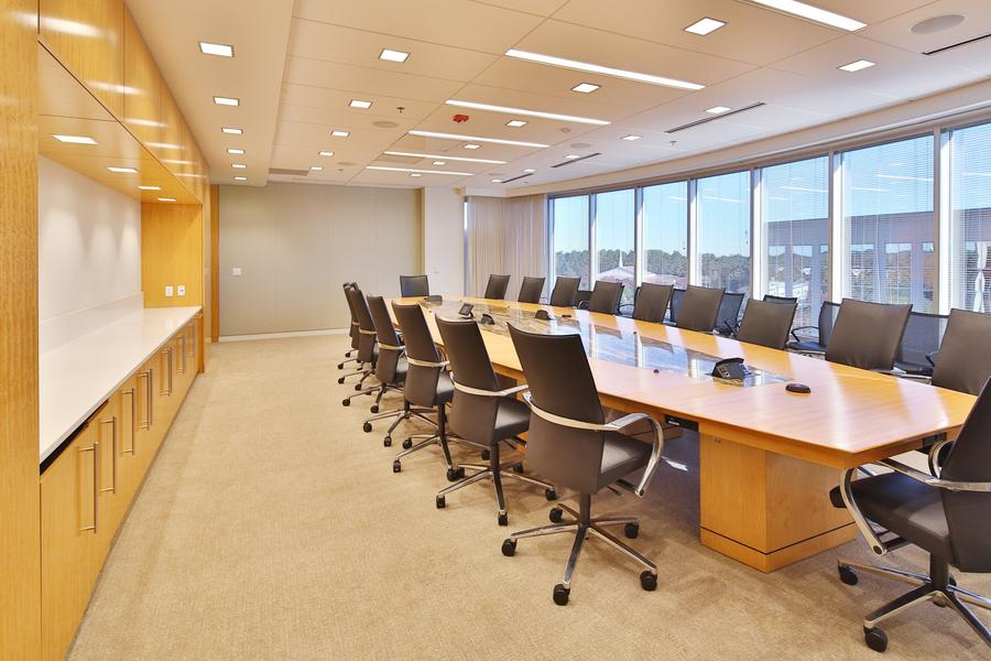 Floors 2-5 have large board rooms, fully loaded with technology