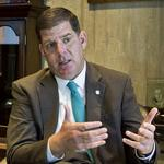 <strong>Walsh</strong> says he'd like to see higher local tax on recreational marijuana