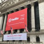 Twilio stock closes up nearly 92 percent in NYSE debut (Video)