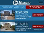 Local App: Huzing lists houses for sale before they are on the market