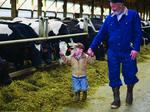 Earning ownership in the family business one cow at a time