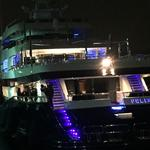 Look what slipped into Seattle under cover of darkness - the 230-foot mega-yacht Felix